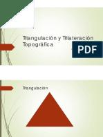 Triangulacion topografica