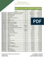 Tabela de Preços _ Aprestos de Pesca e Outros _ correto