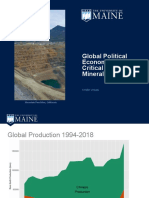 Global Political Economy of Critical Rare Earth Minerals