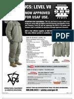 USAF Approves ECWCS Gen III Lvl7