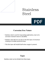 Stainless Steel Types and their compositions
