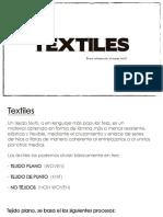Capacitación textil