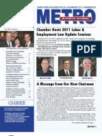 METRO Business Journal - January 2011