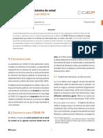 Financiamiento del sistema de salud. Antes, durante y después de COVID-19