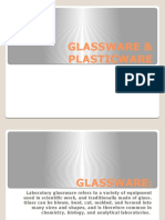 Glassware and Plasticware
