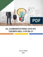 El Gobierno Peruano en Tiempos Del Covid-19