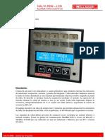 Alarma NAL10-LCD MU