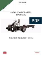 Catálogo de partes ilustrado Thomas Built EF1723 Euro IV y Euro V