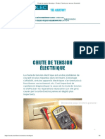Chute de tension électrique - Evolec, 5 devis pour travaux électricité