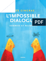 L'Impossible Dialogue _ Sciences Et Religions