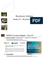 PUCP sesion 13 residuos solidos