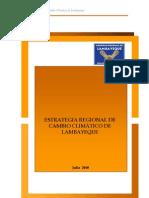 Estrategia Regional de Cambio Climático Lambayeque