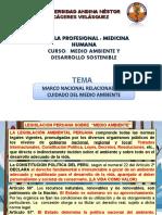 MARCO NACIONAL DEL CUIDADO DEL MEDIO AMBIENTE
