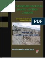Producción de no Metálicos y Rocas Industriales en el Perú(Estrada Armas F.)