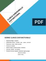 C2 EPR - CLINICA SINDROMULUI DISFUNCTIONAL