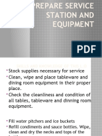 PREPARE-SERVICE-STATION-AND-EQUIPMENT