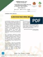 GUÍA DE AVANCE III - 8º
