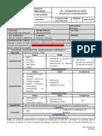 F-PA01-03-005 Descripción de cargo ANALISTA DE ESTANDARIZACION