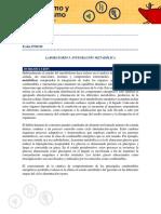Guía Práctica módulo 5 Integración Metabólica