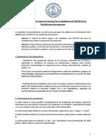 Recomendaciones SEGG para COVID19-residencias. 5-2020
