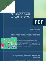 FLUJO DE CAJA – CASH FLOW-