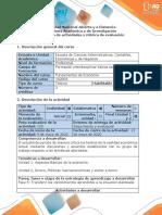 Guía de actividades y rúbrica de evaluación - Fase 5 - Transferir los conocimientos aprendidos a la situación planteada (1)