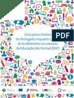 guia acolhimento portugues lingua nao materna