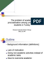 The Problem of Academic Procrastination Among University Students-Presentation