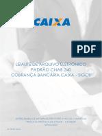 LEIAUTE DE ARQUIVO ELETRÔNICO PADRÃO CNAB 240.pdf