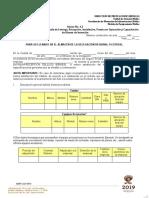 Anexo No. 2.1 Acta Administrativa Circunstanciada de Entrega Recepción