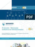 Protocolo - Retomada da Indústria do Entretenimento - Clean & Safe