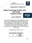 Media Technology Project UG3 Guide