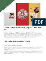 Top 5 Curiosidades_das_Copas_1950,_54_e_58