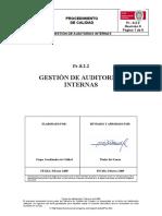 Pr 8.2.2.- Gestion de Auditorias Internas