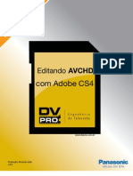 EDITANDO AVCHD NO PREMIERE CS4
