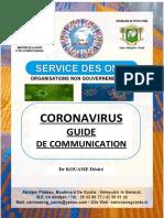 GUIDE CORONAVIRUS ONG