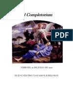 Ad Completorium - Viernes. ENCUENTRO VAYAMOS JUBILOSOS 2020