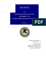 Final Report Special Master September 11 Victim Compensation Fund