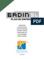 Plan de Empresa - BADIN SL