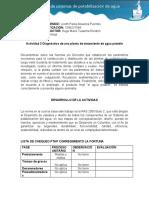 ACTIVIDAD 3  CHEQUEO PLANTA DE POTABILIZACIÓN