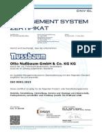 Otto-Nussbaum ISO9001 2018 De