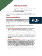 TIPOS DE EMPACADURAS