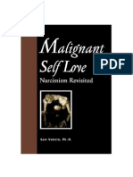 Malignant Self Love - Narcissism Revisited EXCERPTS