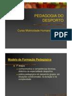 3 Modelos de formação - Eficácia pedagógica [Modo de Compatibilidade]