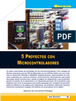5 Proyectos de Microcontroladores (Montajes) - SE342