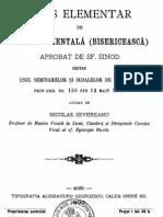 Gramatica Muzicii Psaltice - Nicolae Severeanu