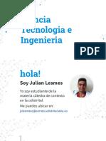Ciencia Tecnología e Ingeniería