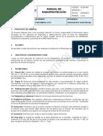 Manual de Radioproteccion Rx