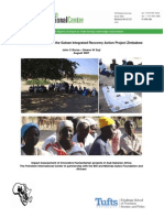 Impact Assessment of the Gokwe Integrated Recovery Action Project