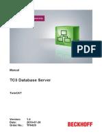 TF6420 TC3 Database Server En